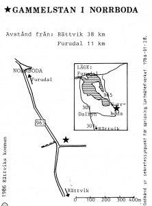 Norrboda gammelsta - Furudal karta
