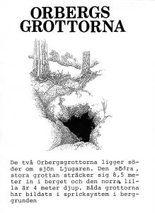 Orbergsgrottorna - Furudal