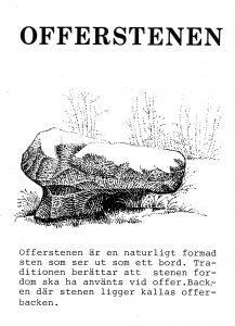 Offerstenen - Furudal