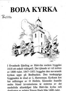 Boda kyrka - Furudal
